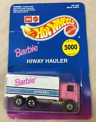 Hot Wheels Barbie Apparel Highway Hauler LEO, INDIA, NRFP, Not Perfect!