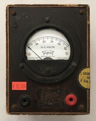 Triplett Vintage Voltage Meter