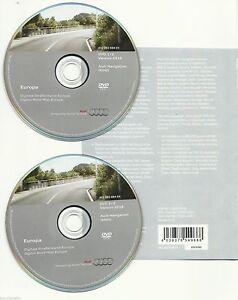 Audi NAVI Software Europa MMI 2G HIGH DVD 2016 SET - A4 A5 A6 A8 S5 Q7 NEU & OVP - Poznan, Polska - Zwroty są przyjmowane - Poznan, Polska
