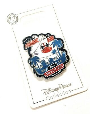 Disney World Skyliner Mickey & Minnie Magic In The Air Trading Pin - New