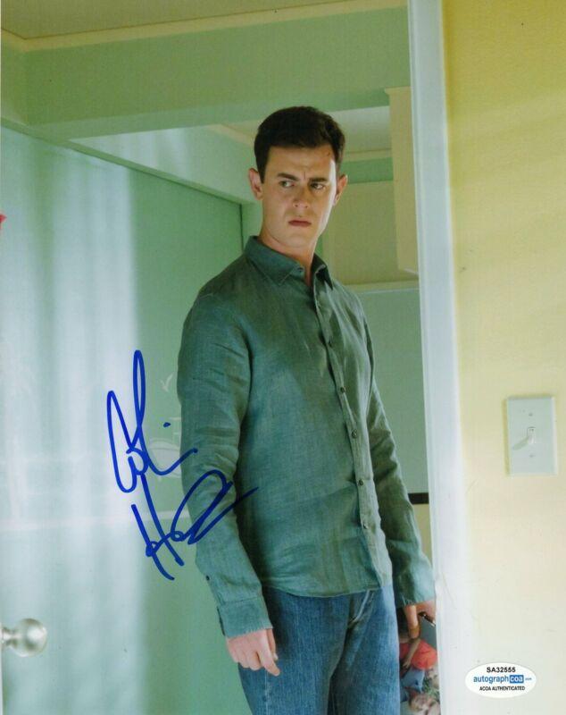 Colin Hanks Autograph 8x10 Photo Dexter Travis Marshall Signed ACOA