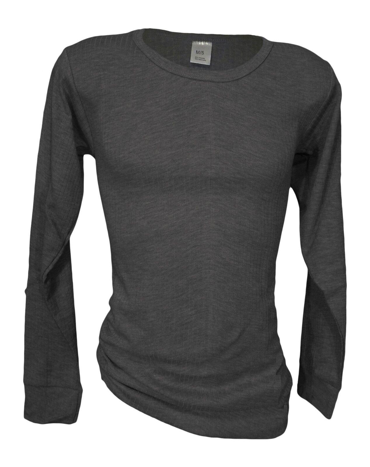 Wäsche warme Langarm Unterhemden für Damen 2er Pack Thermo-Unterhemden Ski