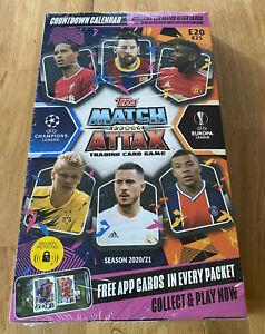 Topps-Match-Attax-Champions-League-2020-2021-Advent-Calendar-NEW-amp-OVP