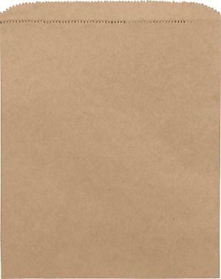 1000 Shopping Kraft Bags Kraft Paper Shoppers 8 12 X 11 1000 Bags