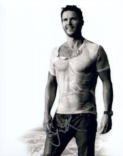 Ryan Kwanten Signed 8x10 Photo TRUE BLOOD See Through Sexy Shirtless Actor COA