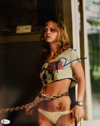 Christina Ricci Signed 11x14 Black Snake Moan Chained Beckett BAS Witnessed COA