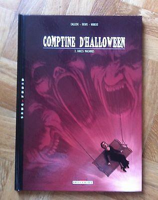 COMPTINE D'HALLOWEEN T2 FARCES MACABRES CALLEDE/DENYS EO PROCHE DU NEUF (D43) (Farces Halloween)