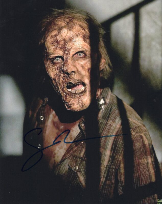 Gregory Nicotero The Walking Dead Signed 8x10 Photo w/COA Director #16
