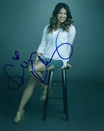 Gina Rodriguez Signed Autographed 8x10 Photo Jane The Virgin  COA