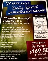 """Amazing, Golf """"Tune Up"""" Tourney, for only $169.50 !!"""