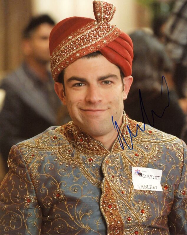 """Max Greenfield """"New Girl"""" AUTOGRAPH Signed 'Schmidt' 8x10 Photo C"""
