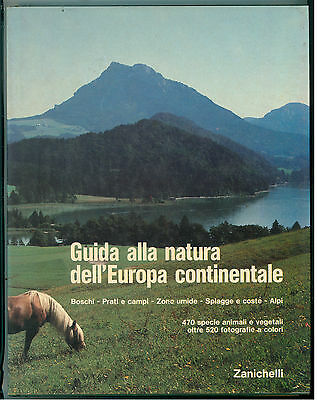 EISENREICH BACHER GUIDA ALLA NATURA DELL'EUROPA CONTINENTALE ZANICHELLI 1983