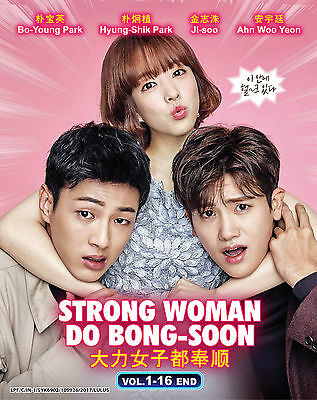 DVD Korean Drama Strong Woman Do Bong Soon Vol. 1-16 End Complete English Sub
