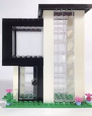 LEGO Modern House Creative-custom Modular Modern house Home Building MOC