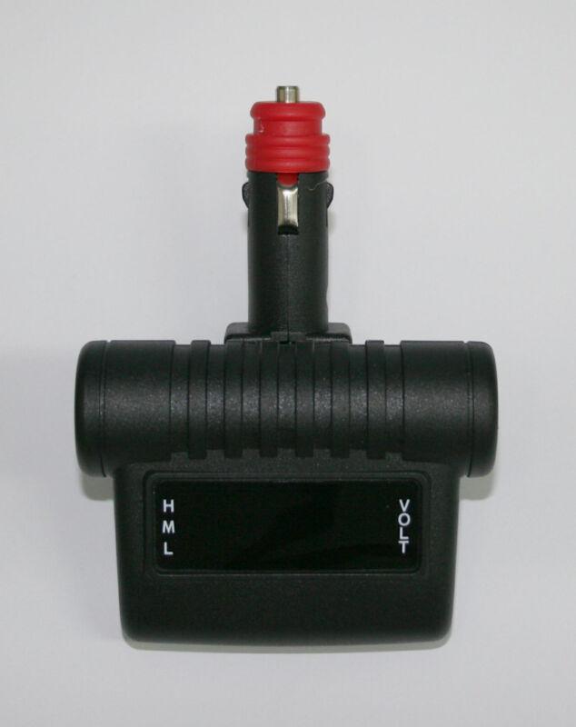 ScopeStuff# VMCD- Digital Voltmeter with Cigarette Lighter Plug - DIM DISPLAY