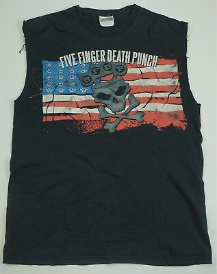 Spiral Long Sleeve Five Finger Death Punch GAME OVER Reaper All Sizes