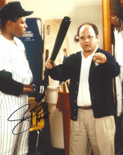 NEW YORK YANKEES DANNY TARTABULL SIGNED AUTHENTIC 'SEINFELD' 8X10 PHOTO w/COA