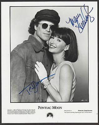 Ted Danson   Mary Steenburgen Signed 8X10 Pontiac Moon Photo Autograph Coa Auto