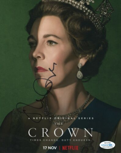 Olivia Colman The Crown Autographed Signed 8x10 Photo ACOA #2