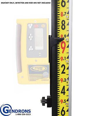 Spectra Precision Cr600hr500 Laserlinelenker Rod Bracketlaser Receiverb1-t