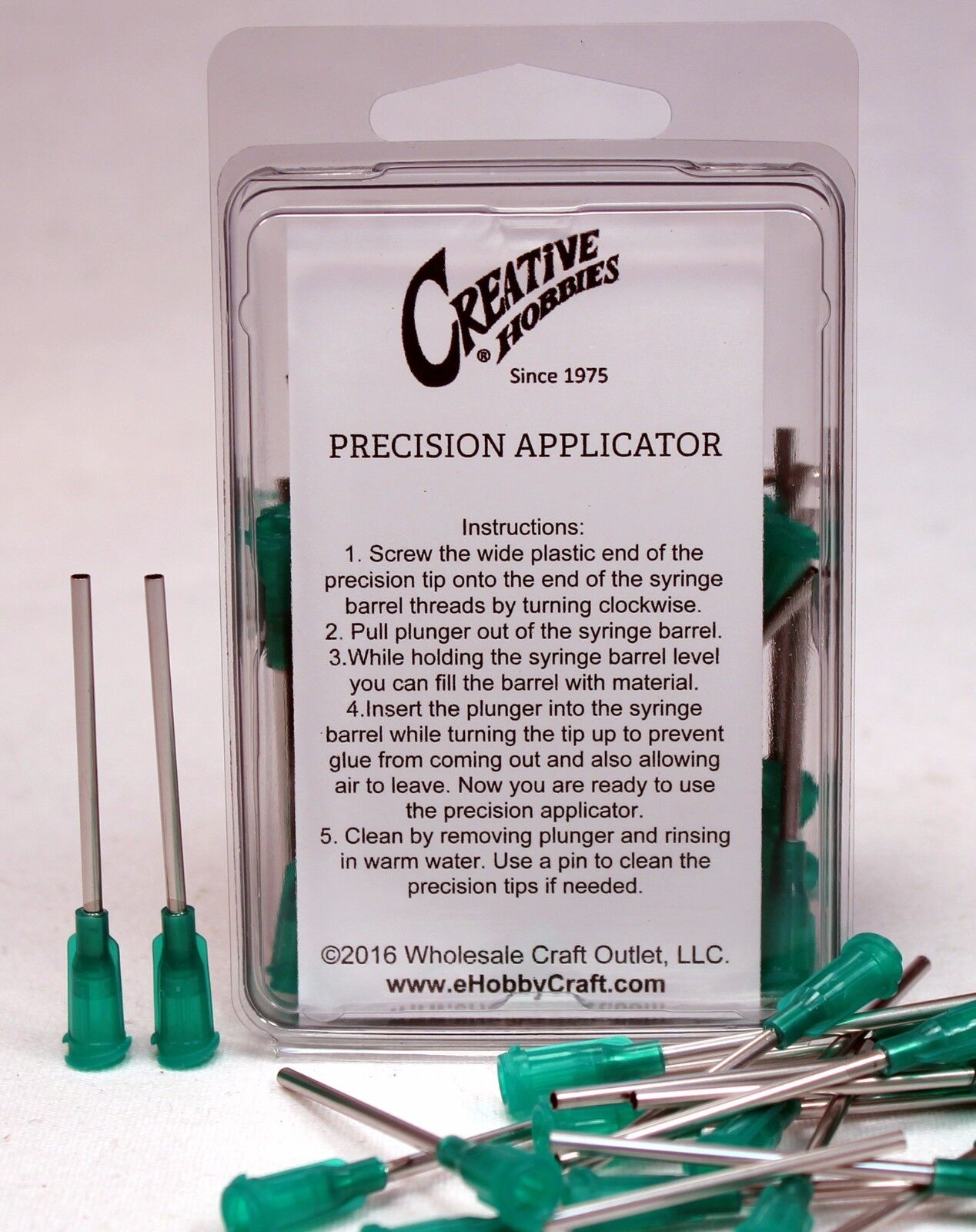 14 Gauge 1.5 Inch, Precision Applicator Dispensing Needle Tips, 50 Pieces Adhesive Guns & Dispensers