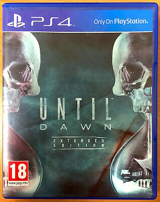 Until Dawn - Extended Edition - PlayStation PS4 Games - Very Good Condition, used for sale  Shipping to Nigeria