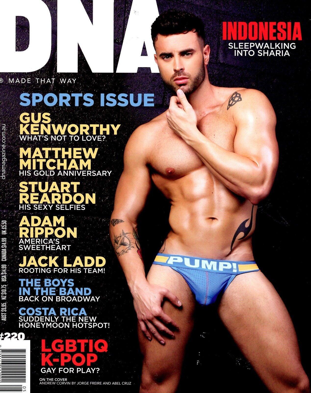 Male gay magazine