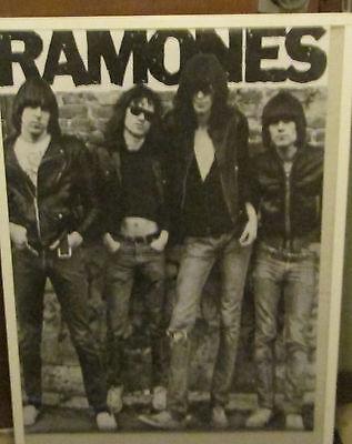 JOEY RAMONE RAMONES VINTAGE RARE NEW SEALED POSTER MID 2000'S ROCK  METAL