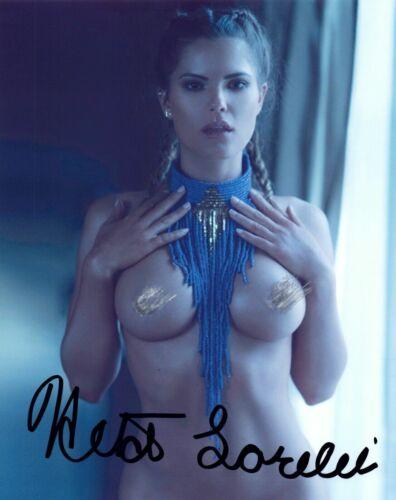 "Heidi Lorelei ""Model"" Autographed 8x10 Glossy Photo Reproduction"