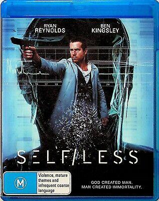 Selfless-Sci-Fi Action Thriller Film Blu Ray (2015) Ryan Reynolds & Ben Kingsley