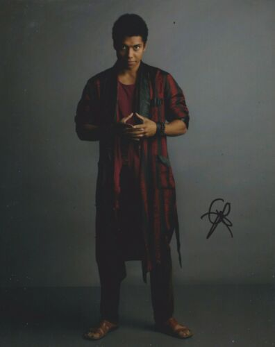 Chance Perdomo Signed Chilling Adventures Of Sabrina 10x8 Photo AFTAL