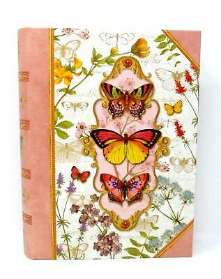 Punch Studio Keepsake Nesting Book Box Butterfly Fantasy 54177 Large