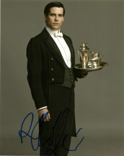 Robert James-Collier Downton Abbey Autographed Signed 8x10 Photo COA #J3