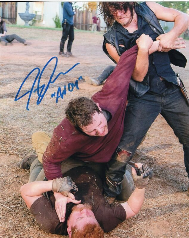 Jeremy Palko The Walking Dead Andy Signed 8x10 Photo w/COA