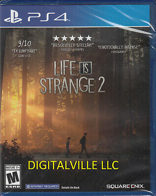 Life is Strange 2 PS4 Brand New Factory Sealed PlayStation 4