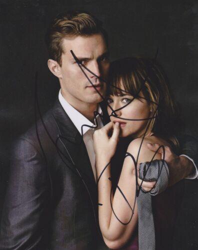 Jamie Dornan/Dakota Johnson Signed Fifty Shades Of Grey 10x8 Photo AFTAL