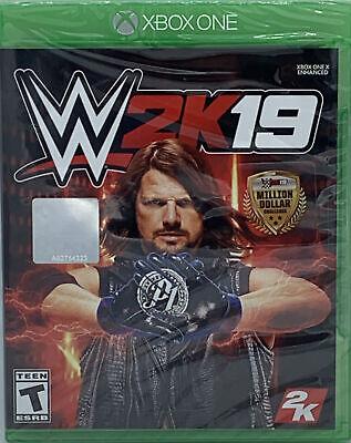 WWE 2K19 Xbox One 2018 Sealed FREE SHIPPING