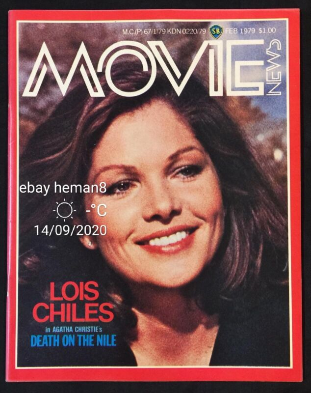 1979 Feb Singapore Shaw Brothers Movie News magazine Lois Chiles Shirley Yu