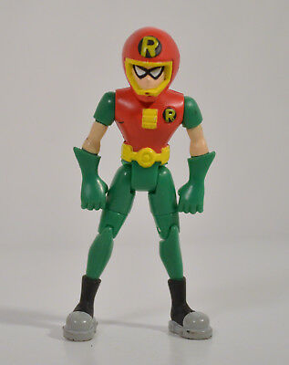 2003 Red Motorcycle Helmet Robin 3 5  Bandai Action Figure Dc Teen Titans Go
