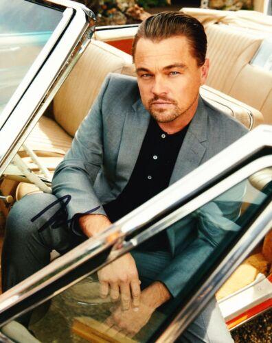 Leonardo DiCaprio Signed 10X8 Photo Genuine Signature AFTAL COA (A)