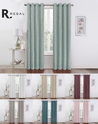 Regal Home Metallic Sparkle Thermal Grommet Blackout Curtain