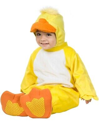 Little Duck Ducky Yellow Animal  Halloween Infant Toddler Costume 6-18 months  - Toddler Duck Costumes