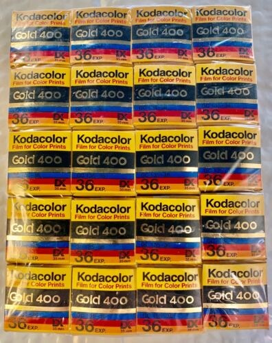 Kodak Kodacolor 35 mm Gold 400 36 Exp 05/1994 Print Film Made In USA - 20pk
