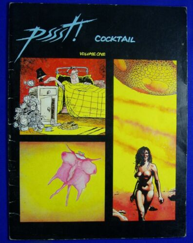 Pssst! Cocktail volume 1. UK underground. Artpool/Never. 1st 1981. FN-. Rare.