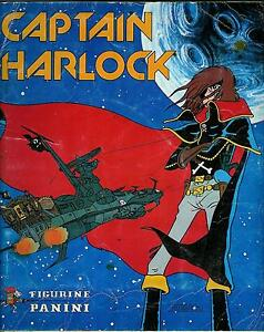 MANCOLISTA-FIGURINE-ALBUM-CAPTAIN-HARLOCK-1979-PANINI-NUOVE-1-00-RECUPERATE-0-70