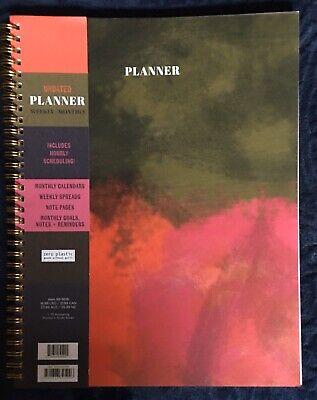 Undated Weekly/ Monthly Planner Zero Plastic