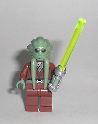 LEGO Star Wars - Kit Fisto - Figur Minifig Jedi Ritter Yedi Knight Arc 8088 7661