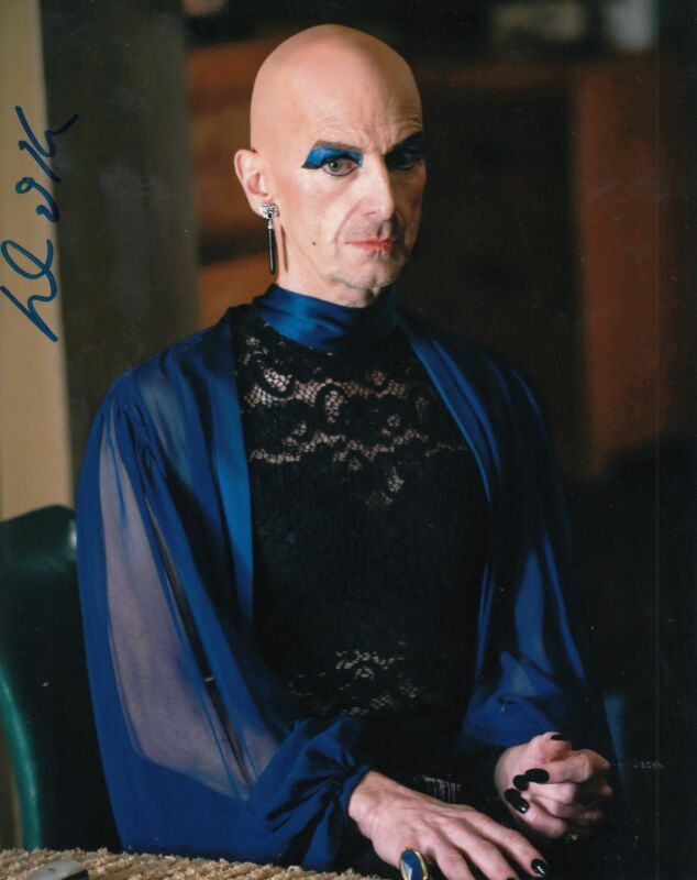 DENIS O'HARE signed (AMERICAN HORROR STORY) 8X10 photo *SPALDING* LIZ W/COA #2