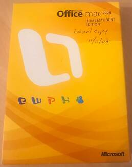 Microsoft Office Mac 2008 Home & Student Edition 3 Users
