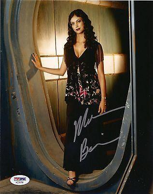 Morena Baccarin Signed 8X10 Photo  Deadpool Gotham Batman  Serenity  Psa Dna Coa